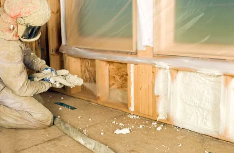 this image shows crawl space in vancouver