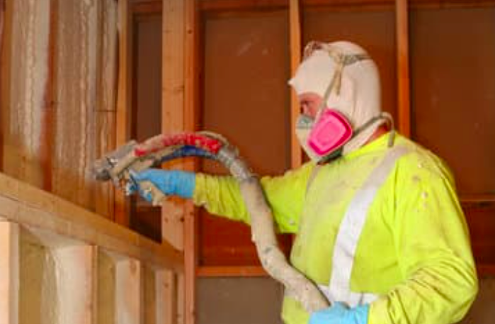 an image of spray foam service in Vancouver, BC
