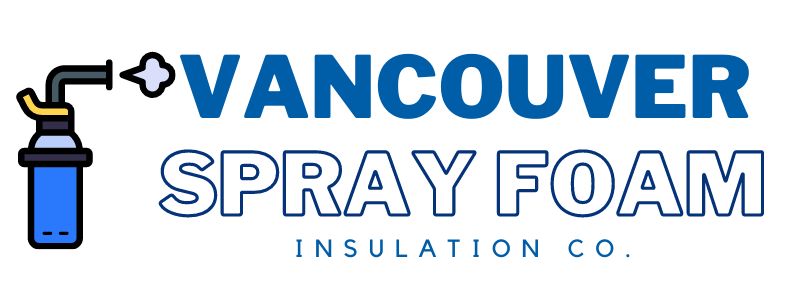 this image shows vancouver spray foam logo